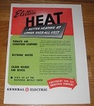 1946 4-page General Electric Ad - Furnaces, Electronic Heaters, Calrod Heaters