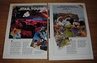 1990 11-page Disney World Ad - Star Tours, Muppets, Wonders of Life, Delta, AMEX