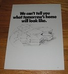1985 3-page General Electric Advertisement - HomeMinder System