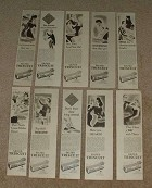 Large Lot of 15 Nabisco Triscuit Cracker Ads, from 1939